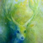 守護神の鹿
