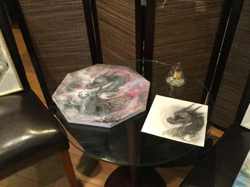 201702対話できる絵画ゆる飲み個展タートル - 21