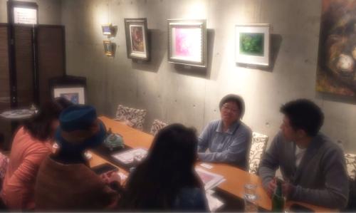 201702対話できる絵画ゆる飲み個展タートル - 41