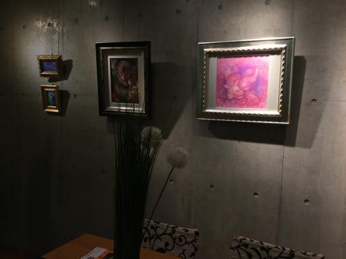 201702対話できる絵画ゆる飲み個展タートル - 09